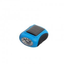 Lampe torche rechargeable solaire bleu Frendo