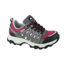 Chaussures de marche pour enfants tige mid woody rose