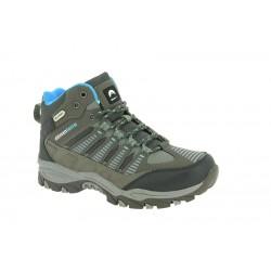 GHANZI chaussures de marche pour enfants gris bleu