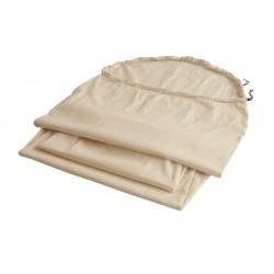 Drap coton sarcophage
